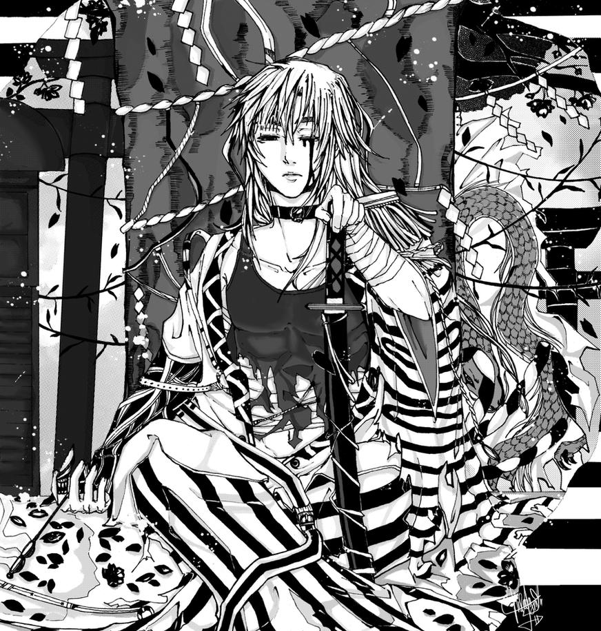 - Black Sakura - by neelamz-ciakooy