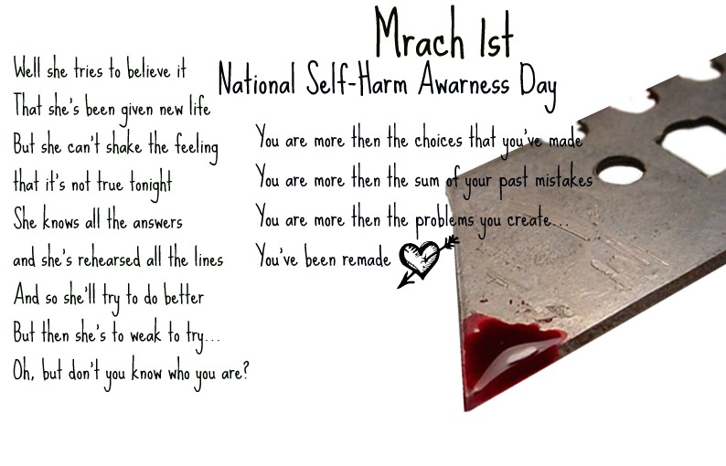 National Self-Harm Awarness Day by WolvesRock15 on deviantARTCutting Scars Thigh
