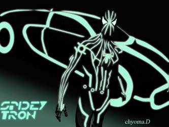 Spidey-Tron by superweird-chyoma