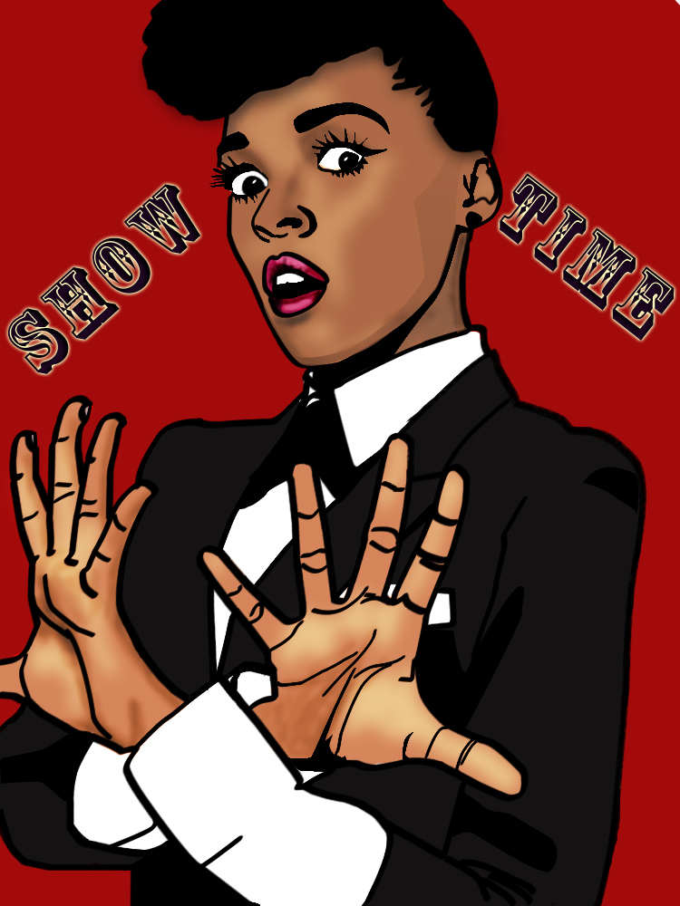 Janelle Monae- Show Time by superweird-chyoma