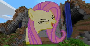 Fluttershy - Minecraft