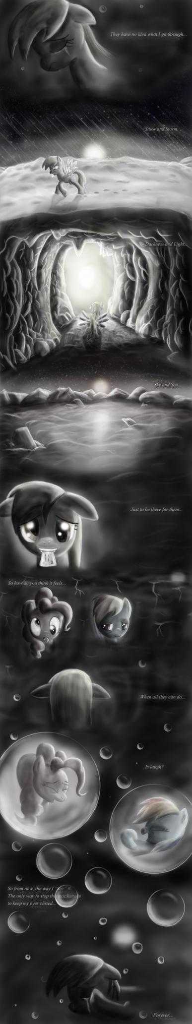 Derpy's Lament by SuneGem