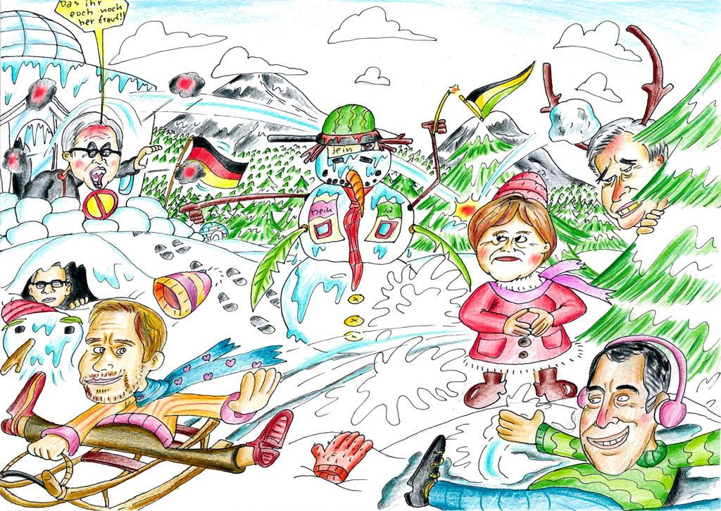 Politische Eiszeit by mchofmann