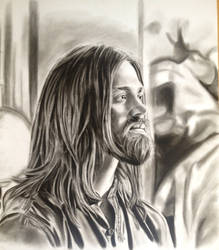 Jesus from the walking dead by mchofmann