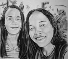 a portrait for friends