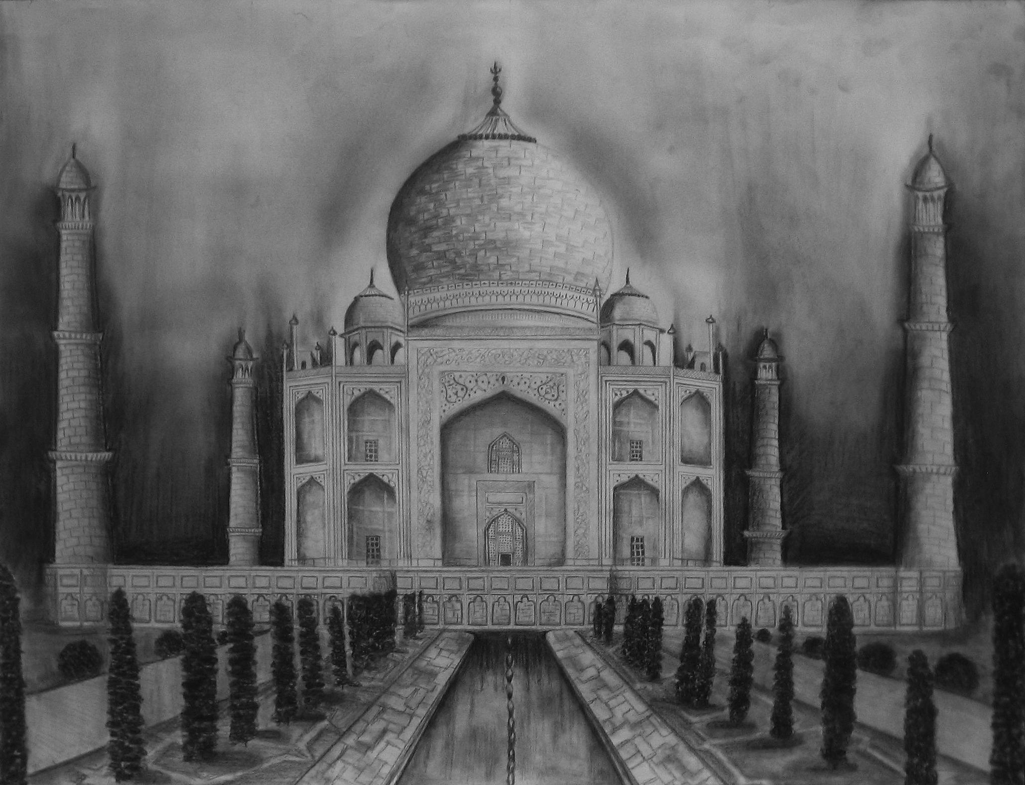 Taj Mahal by anamania220 on DeviantArt