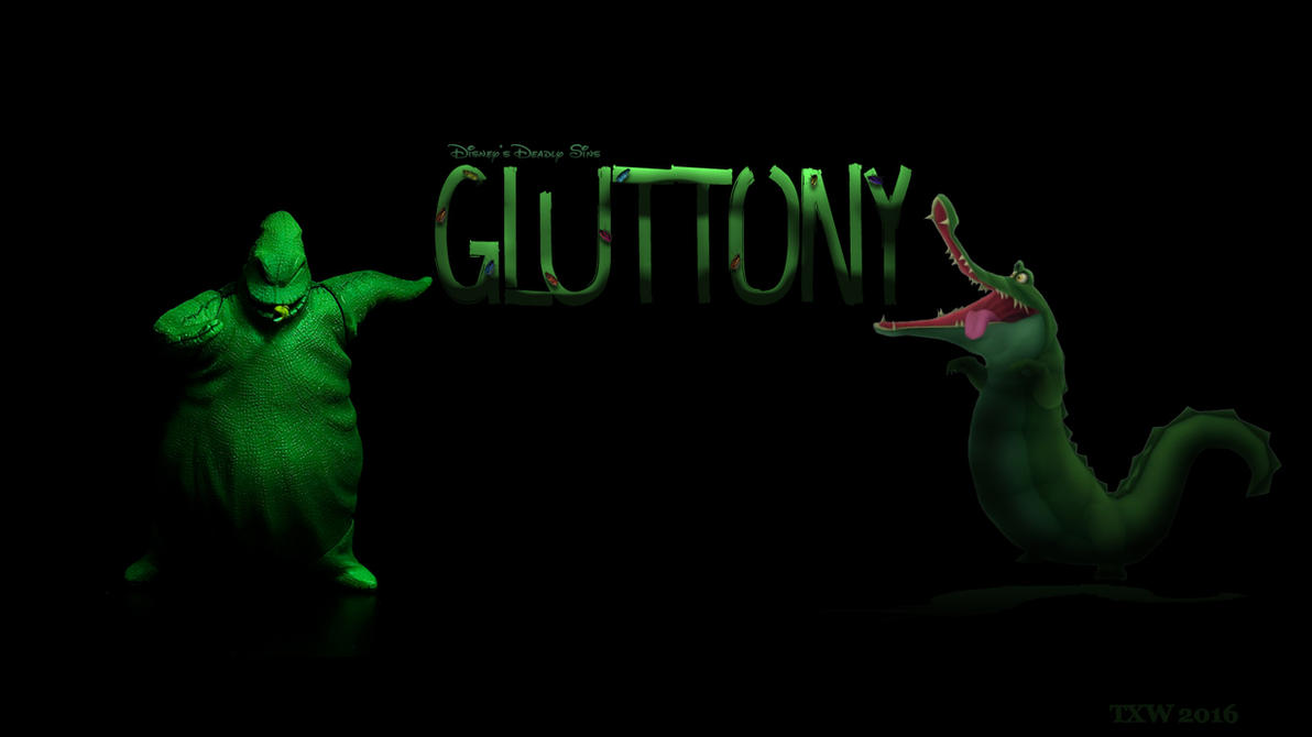 Disney Deadly Sins: Gluttony by trentsxwife