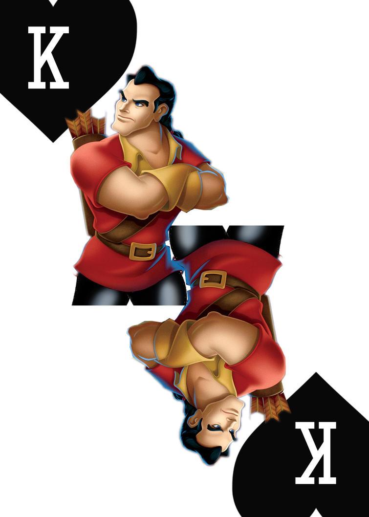 Disney Villains: Gaston by trentsxwife