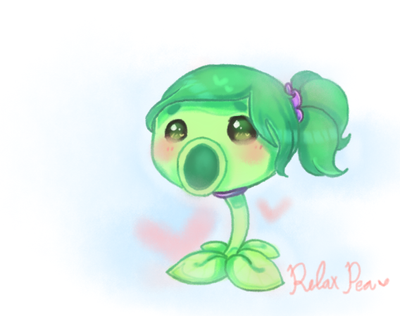 Relax pea  by annisa-miranti