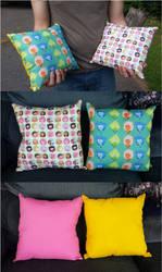 Steven Pillow Set by mastertortilla27