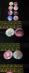 Steven Universe Button Set by mastertortilla27