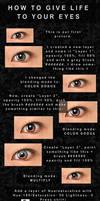 Shining eyes - Tutorial