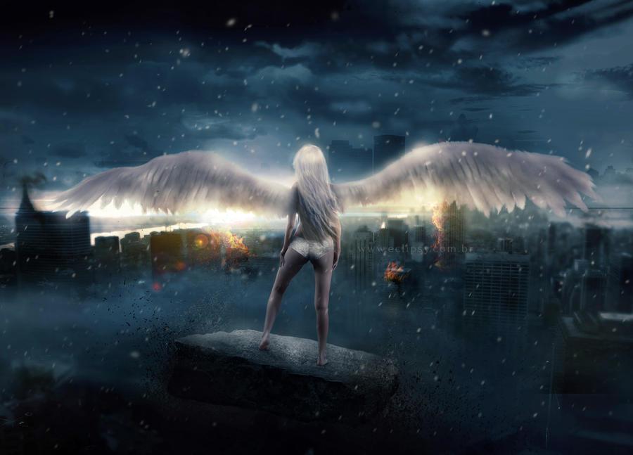 Angel of Chaos by Pri-Santos