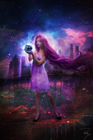 The World is mine by Pri-Santos