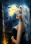 Daenerys  - Another night without you.. by Pri-Santos