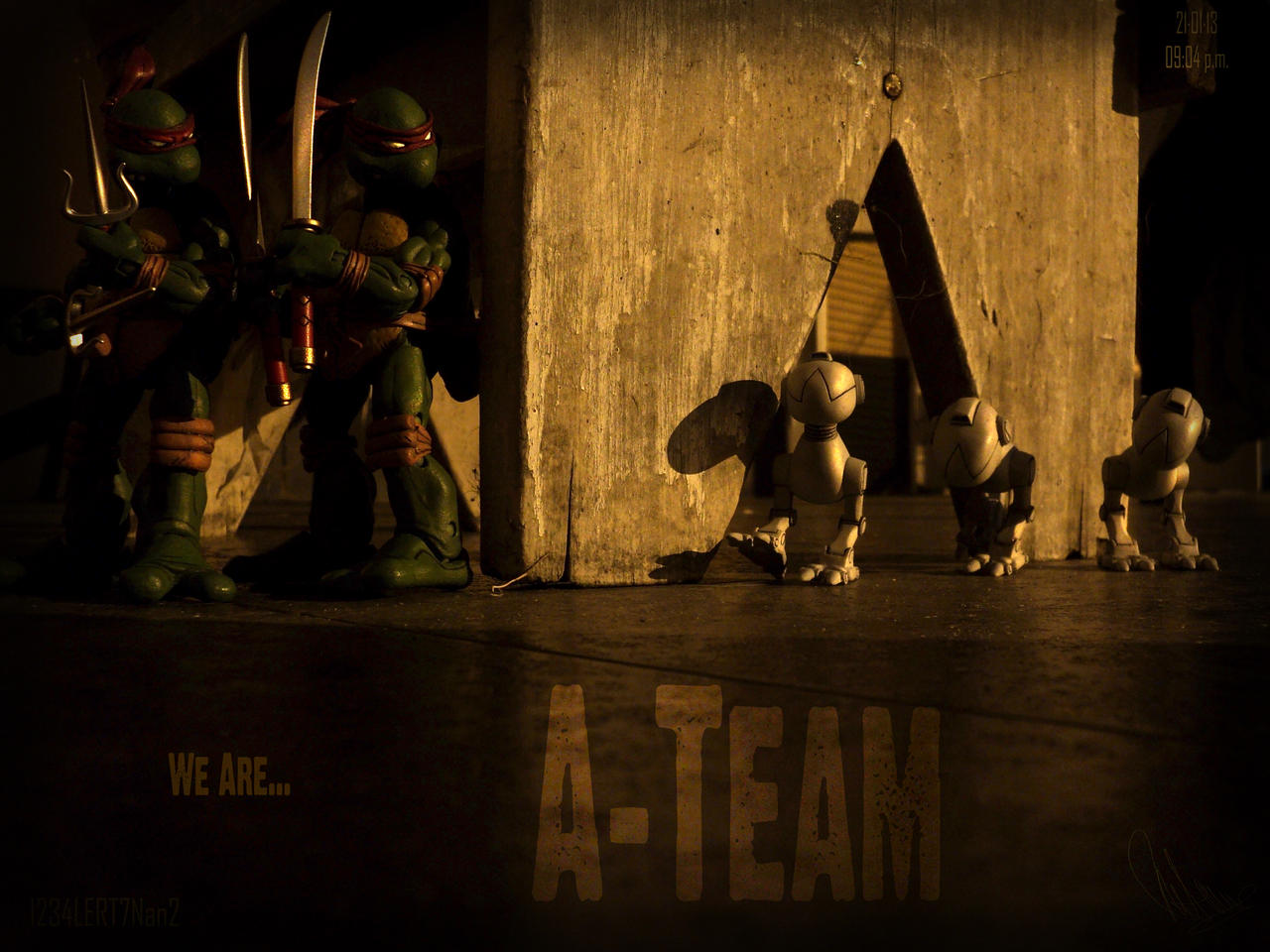 We Are...A-TEAM by 1234LERT7Nan2