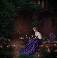The singing nightingale by Eva-Milan