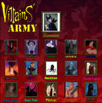 HVM: Disney Villains Army
