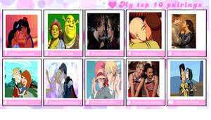 Top 10 Favorite Couples