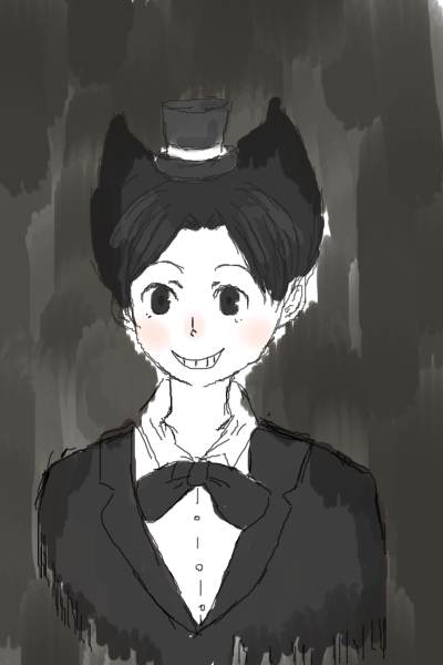 Humanized Bendy Doodle by Kaisama3
