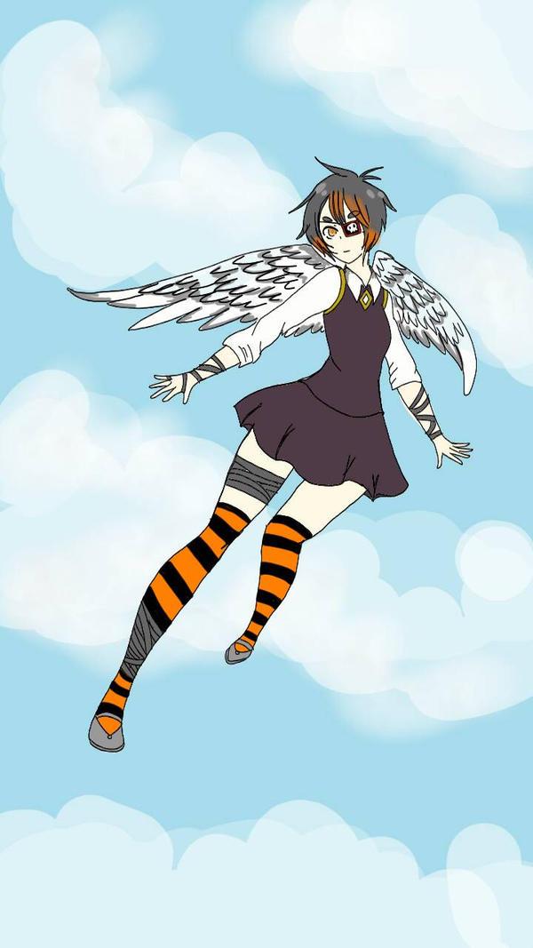 aoi the angel by Kaisama3