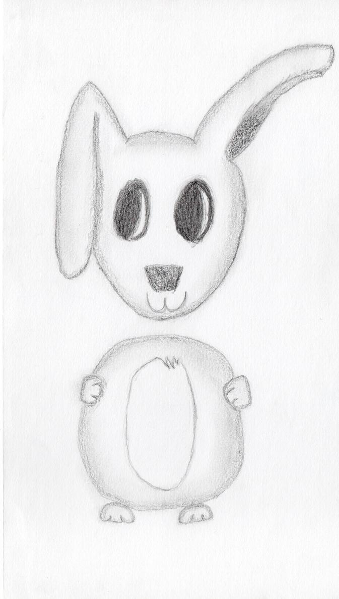 Chibi bunny by icute20