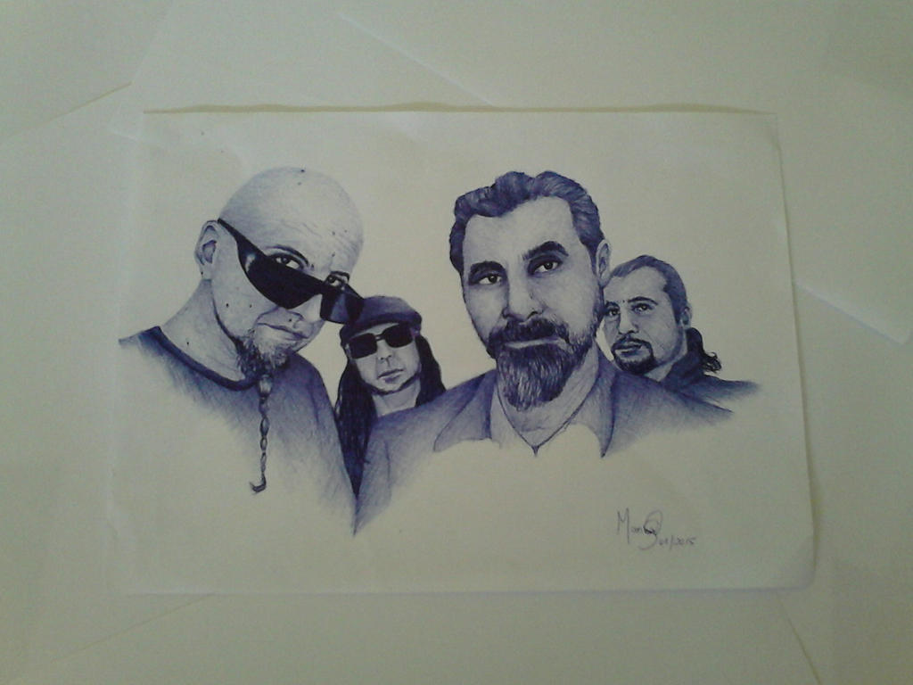 System Of A Down by marinadeoliveira