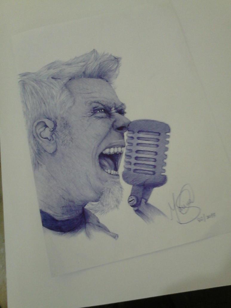 James Hetfield by marinadeoliveira