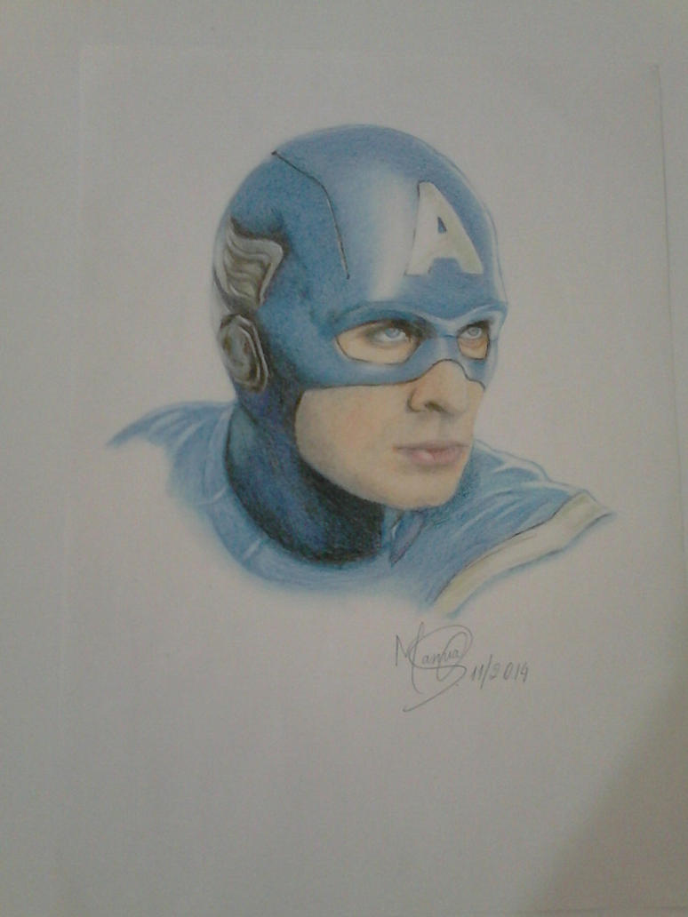 Captain America by marinadeoliveira