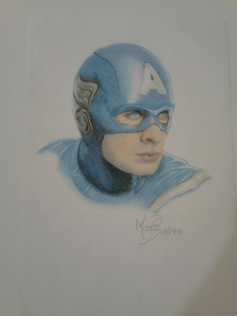 Captain America by marinadeoliveira