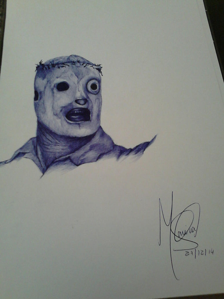 Corey Taylor (Slipknot) by marinadeoliveira