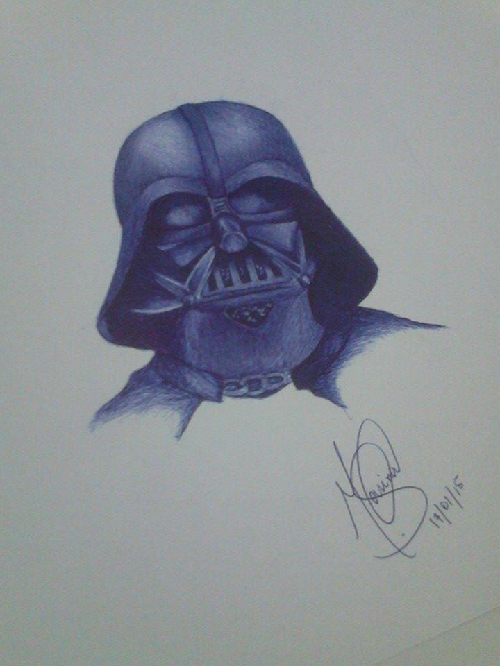 Darth Vader by marinadeoliveira