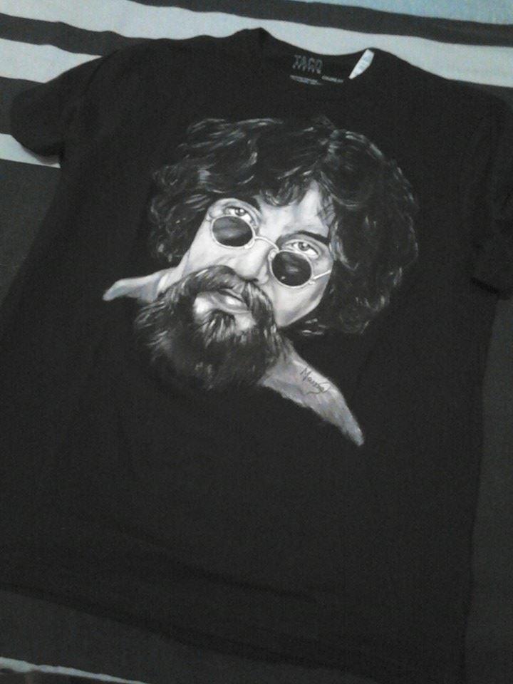 Raul Seixas - T-shirt by marinadeoliveira