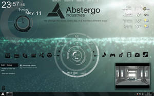 Assassin's Creed 4 - Abstergo Industries UI