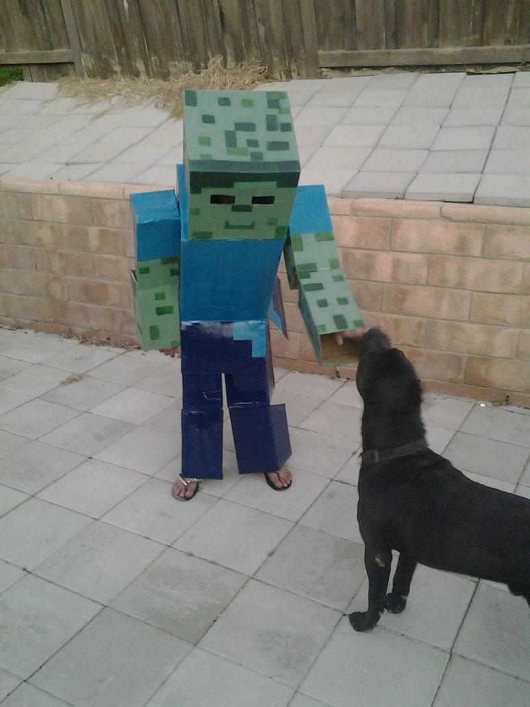 Minecraft Zombie by rvbass ... & Minecraft Zombie by rvbass on DeviantArt
