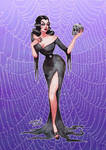 Glamour Ghoul Vampira (Maila Nurmi) by crackyourbones