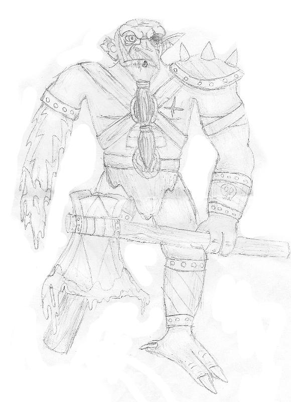 Troll Barbarian