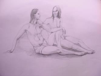 Maedhros and Fingon by Dissendio