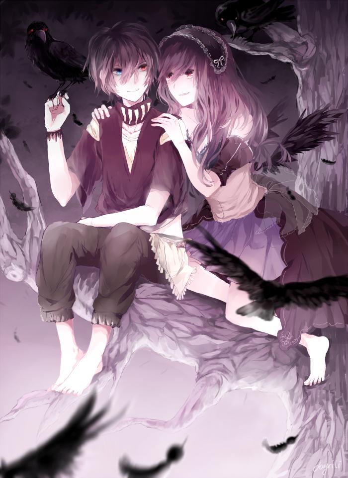 Crows by Dayrili