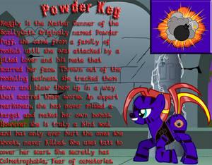Powder Keg 'Keggly' MLP Ref