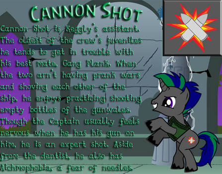 Cannon Shot MLP Ref