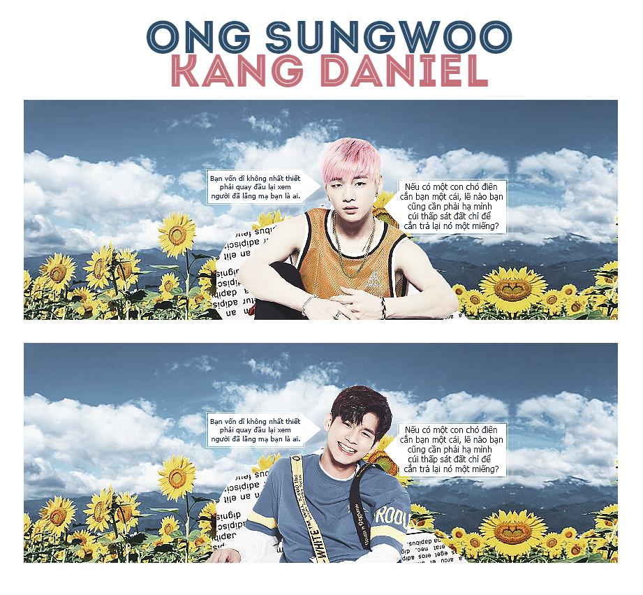 [27042017] ONG SUNGWOO x KANG DANIEL by YenPhuong