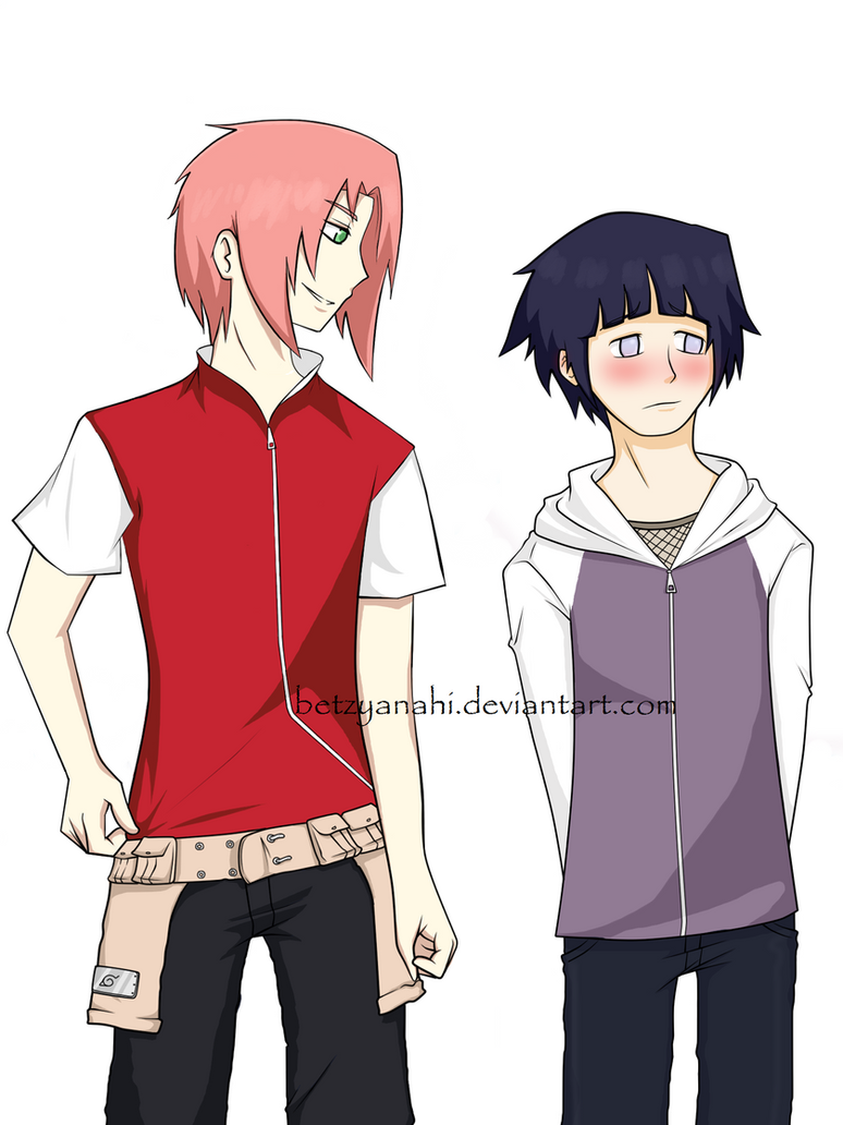 gender bender sakura and hinata by BeTzYAnAhI