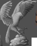 Bird-statue