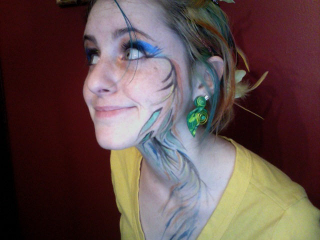 Earth Fairy Make Up By Treefrogoptimist On Deviantart