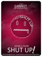 Common Sense: Shut Up