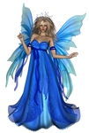 Fairy dark blue
