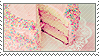 pink cake by skystamps
