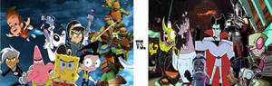Nickelodeon: The Heroes vs. The Villains