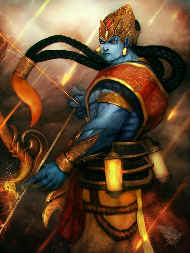 Smite Rama by Mrahart